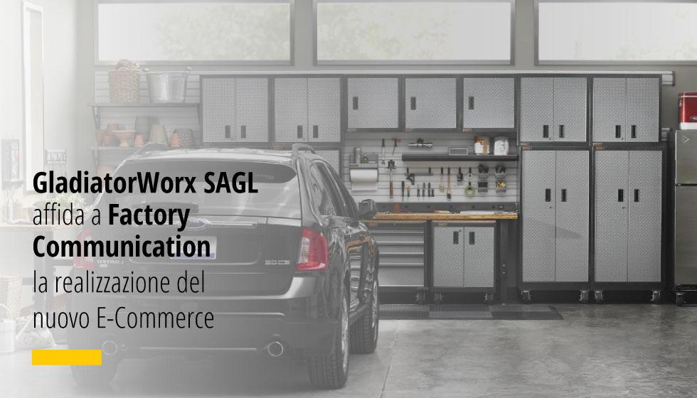GladiatorWorx SAGL Affida A Factory Communication La Realizzazione Del Nuovo E-Commerce