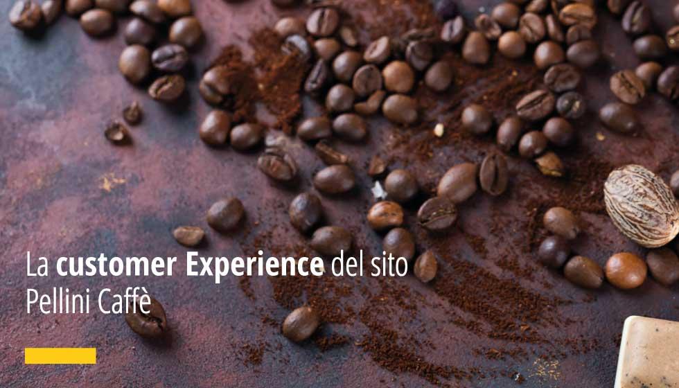 La customer Experience del sito Pellini Caffè