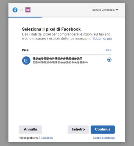 Factory Communication plugin Facebook for WooCommerce. STEP 6 - Setup Facebook Pixel