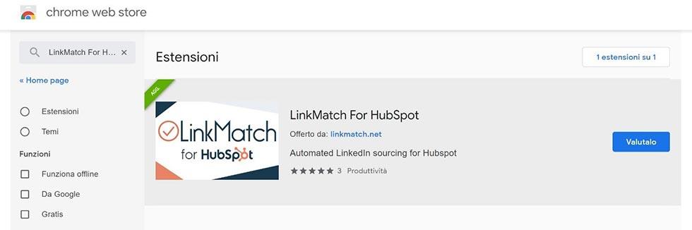 Lead generation su Linkedin con LinkMatch for HubSpot