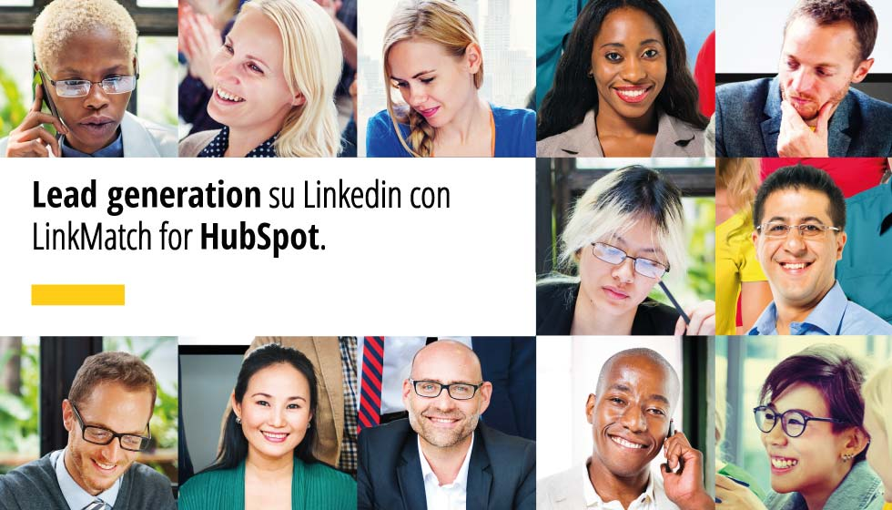 Lead generation su Linkedin con LinkMatch for HubSpot