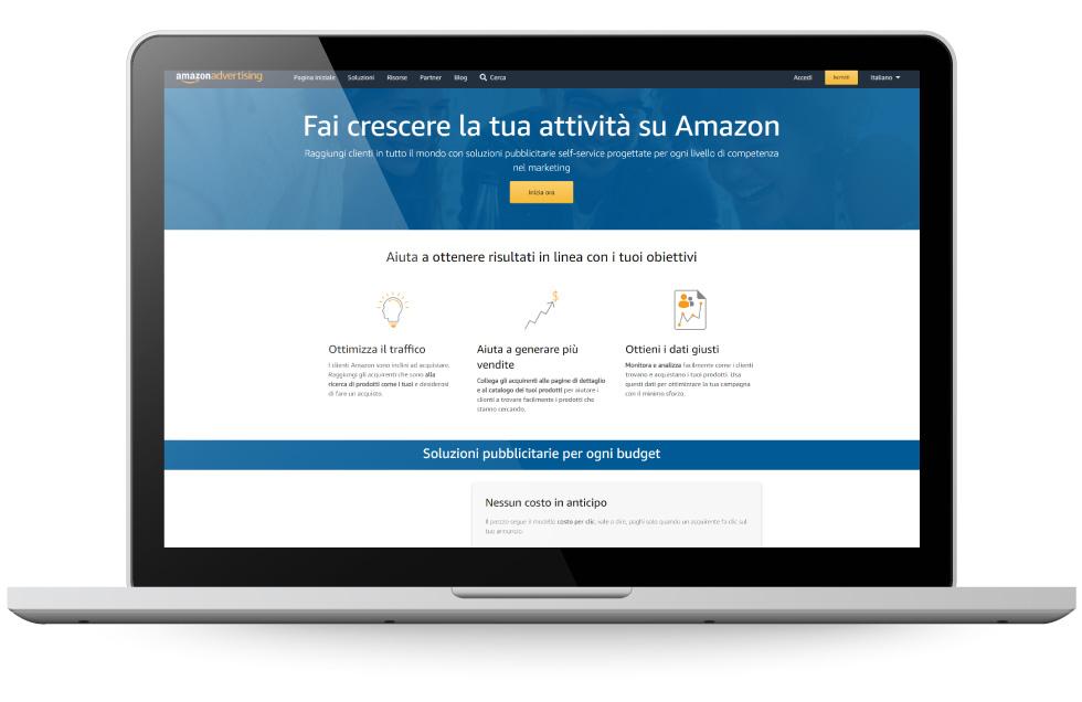 Factory Communication Vendere su Amazon e altri marketplace - Ads e Promozioni