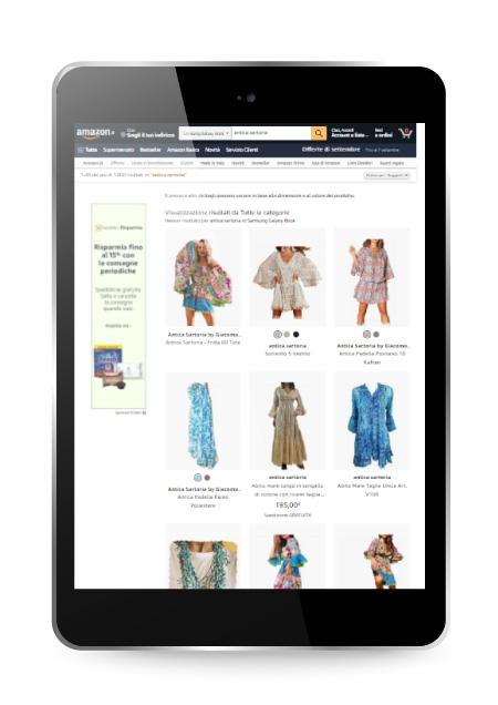 Factory Communication - Vendere su Amazon e altri marketplace Antica Sartoria Positano
