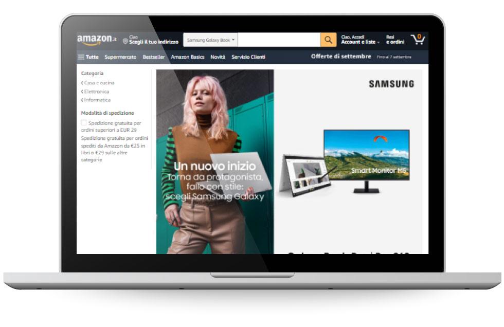 Factory Communication - Vendere su Amazon e altri marketplace - Pagina Brand