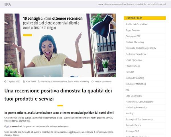 """Immagine dell'articolo """"Come promuovere le recensioni positive dei clienti?"""""""