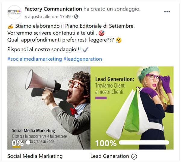 Post Social Media Factory Communication