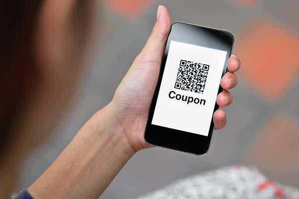 QR Code esempio di utilizzo per i coupon