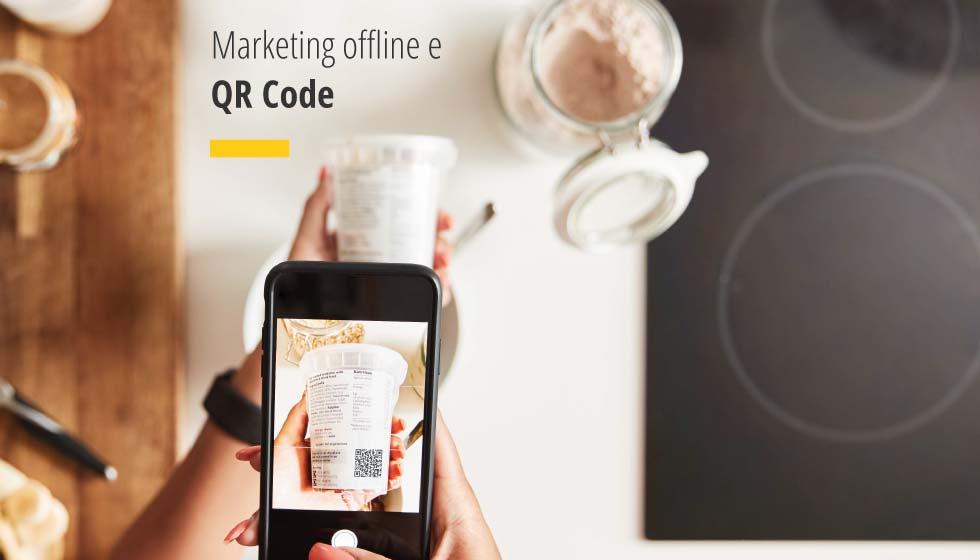 Il QR Code è lo strumento di connessione tra l'Azienda e il suo pubblico di riferimento, nel marketing offline