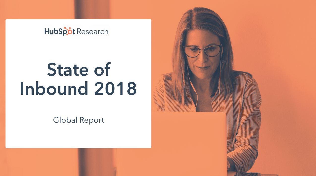 """Hubspot White Paper """"State of Inbound 2018"""""""