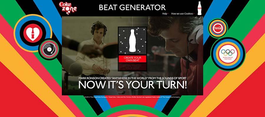 """Factory Communication """"14 strategie di fidelizzazione dei clienti che funzionano"""" - Coca Cola Beat Generator per unire musica sport e brand"""