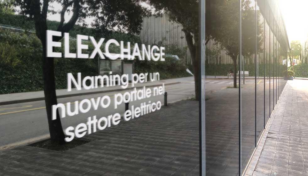 ELEXCHANGE Naming Nuovo Portale Settore Elettrico