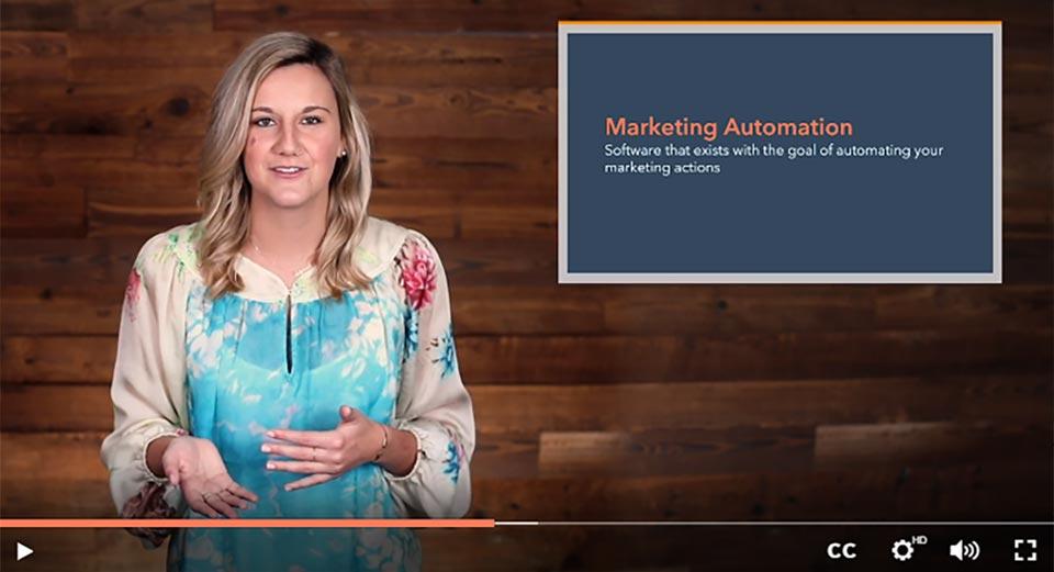 Corso di Marketing Automation realizzato da Hubspot Academy
