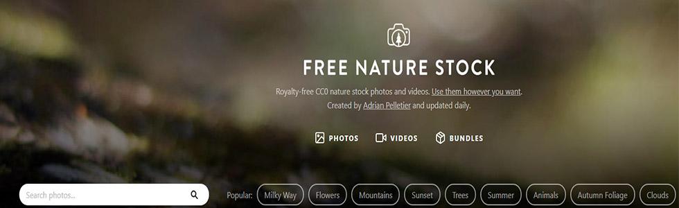 Free Nature Stock portale per scaricare foto gratis