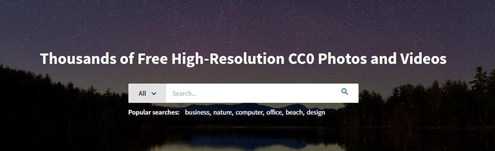 ISO Republic sito per scaricare foto gratis