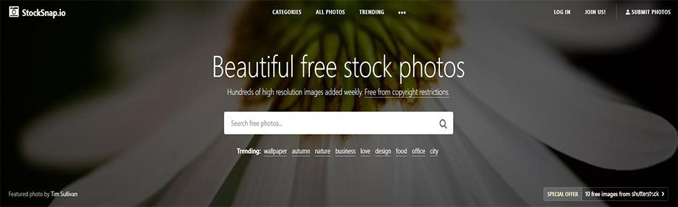 Stock Snap foto gratis per social e inserzioni