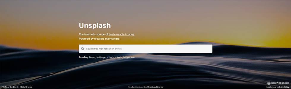Unsplash sito per scaricare immagini gratuitamente