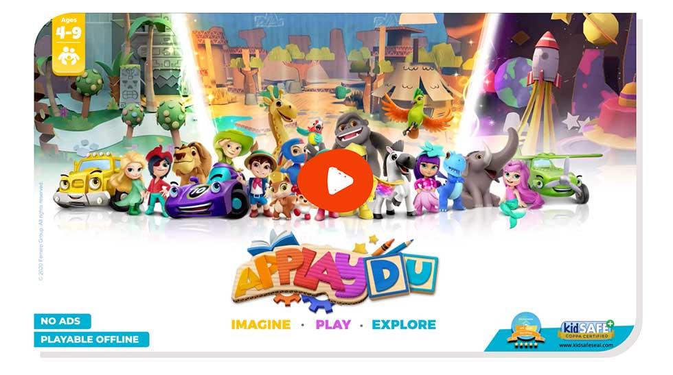 tratto da Factory Communication - Applaydu l'app di Kinder per implementare la realtà aumentata nella customer experience