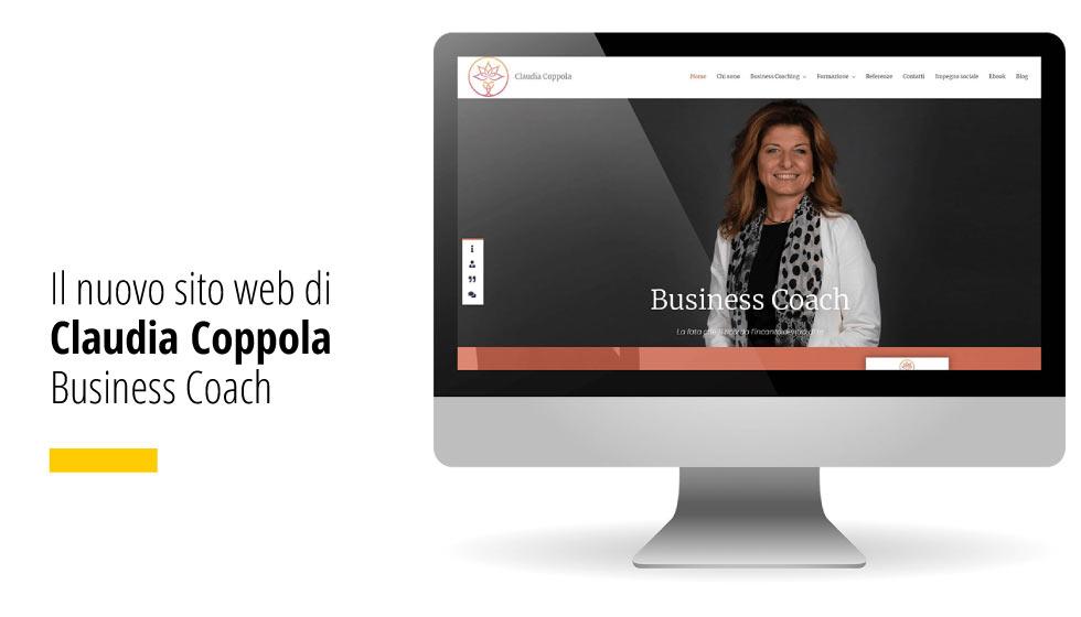 Il nuovo sito internet di Claudia Coppola Business Coach