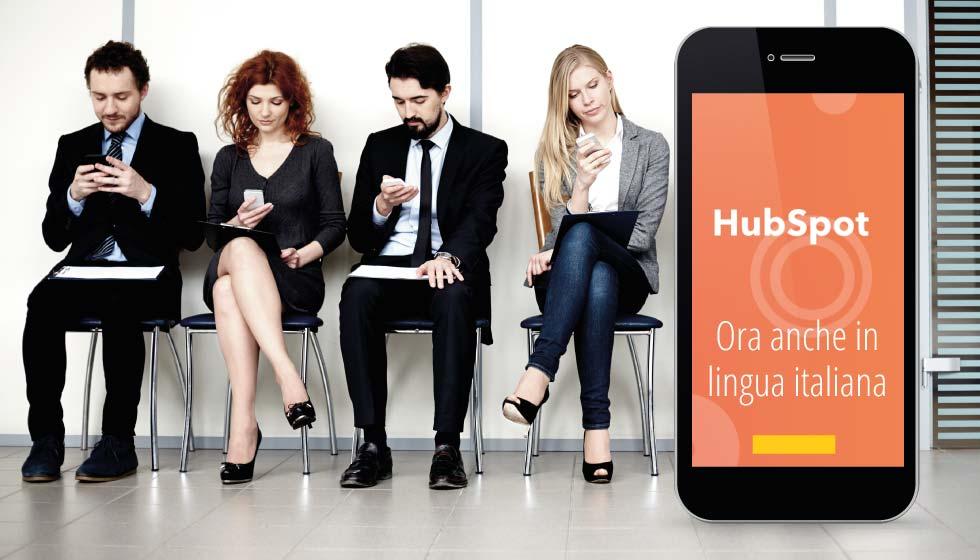 Scopri HubSpot in lingua italiana