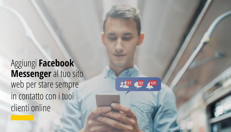 Aggiungi Facebook Messenger Al Tuo Sito Web