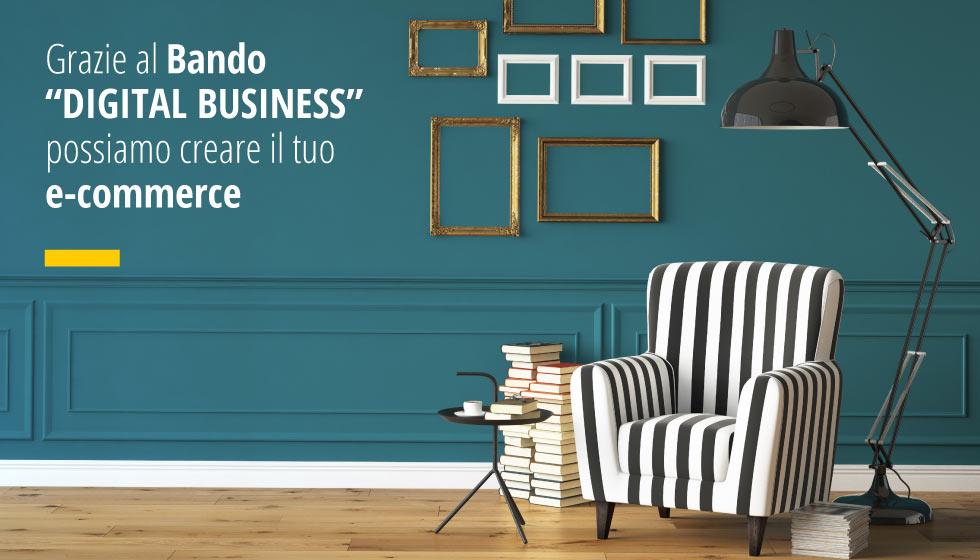 """Grazie Al Bando """"DIGITAL BUSINESS"""" Possiamo Creare Il Tuo E-commerce"""
