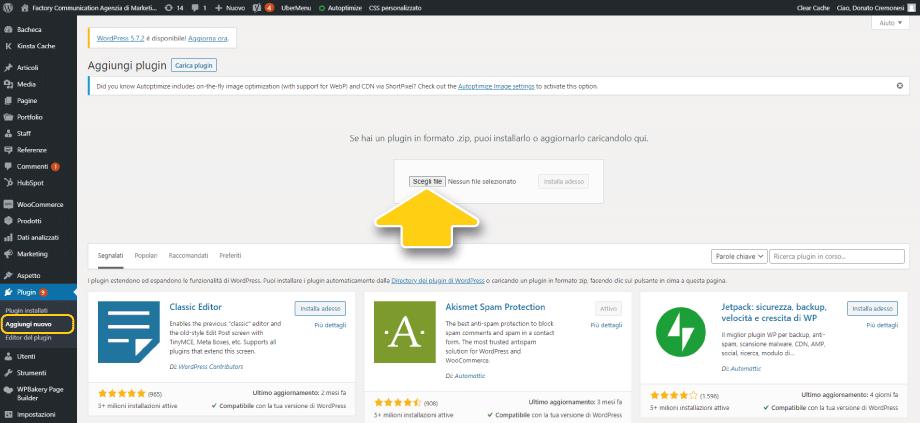 Carica il plugin gratuito WooCommerce by MakeWebBetter