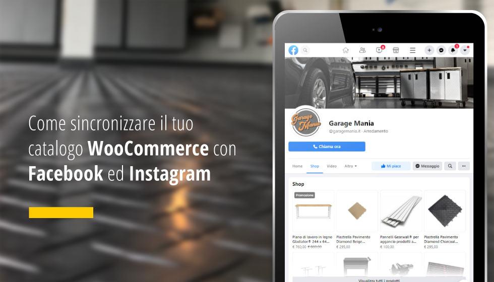 Come Sincronizzare Il Tuo Catalogo WooCommerce Con Facebook Ed Instagram
