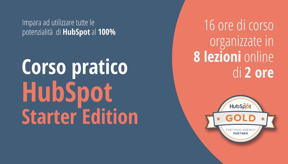Factory Communication è HubSpot Gold Certified Agency Partner. Scopri Come Utilizzare HubSpot Per Incrementare Il Numero Di Contatti, Clienti E Vendite. Corso Pratico HubSpot Starter Edition