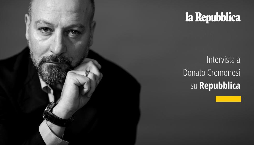 Intervista A Donato Cremonesi Su Repubblica